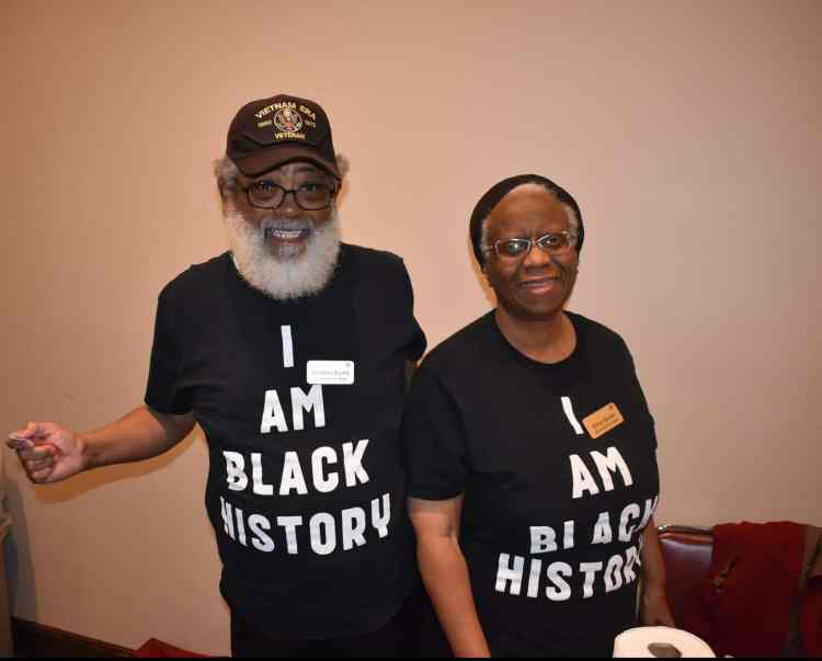 Black History Month event at the Birmingham Public Library