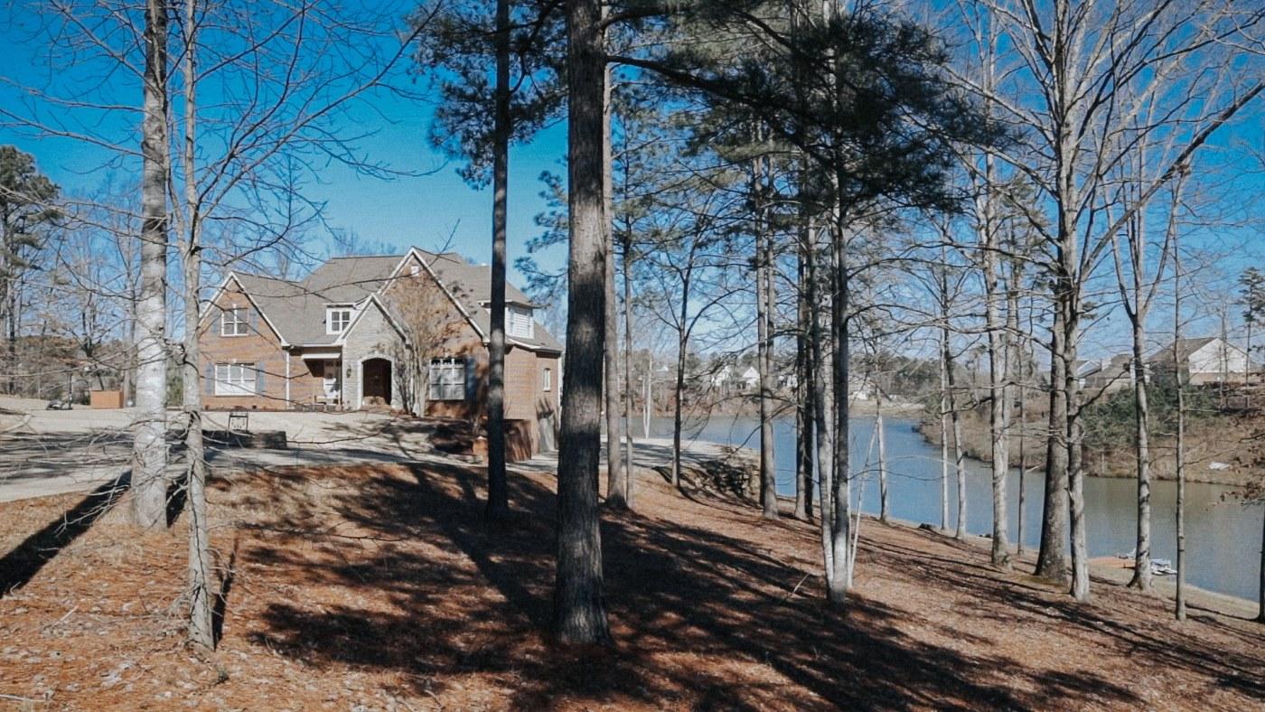 house at Carrington Lakes
