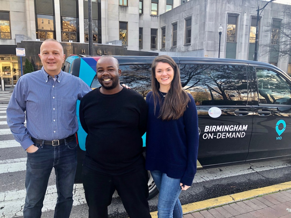 Birmingham On-Demand, the new micro-transit ride-sharing program is easy to use and growing