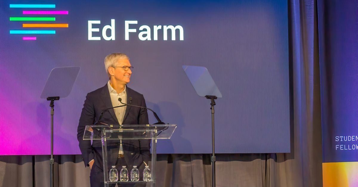 "Apple CEO Tim Cook joins Birmingham civic leaders to launch ""Ed Farm."" Here are the details."