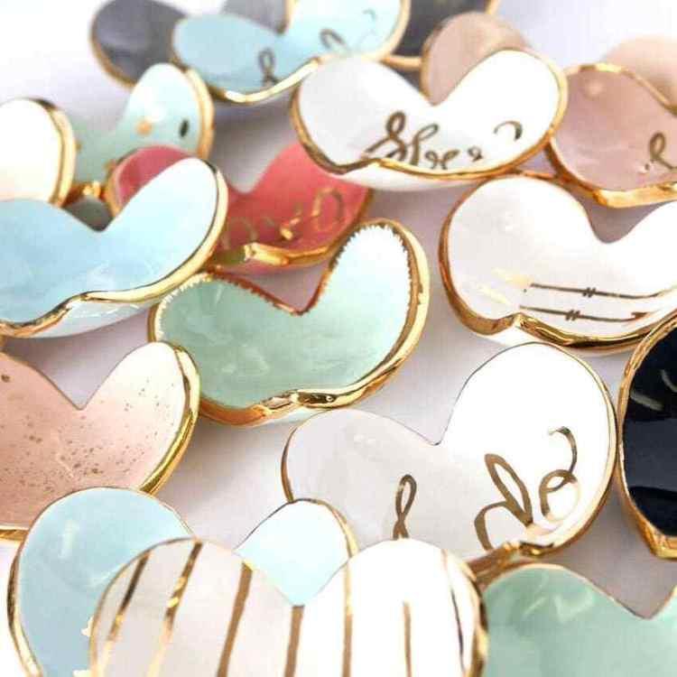 Birmingham, Susan Gordon Pottery, Valentine's Day, Valentine's Day gifts, hearts, pottery, ring dishes, jewelry