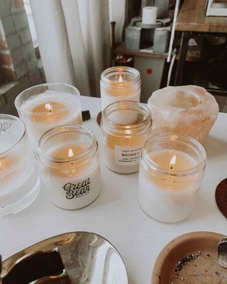 Birmingham, Great Bear Wax , candles, Valentine's Day, Valentine's gifts