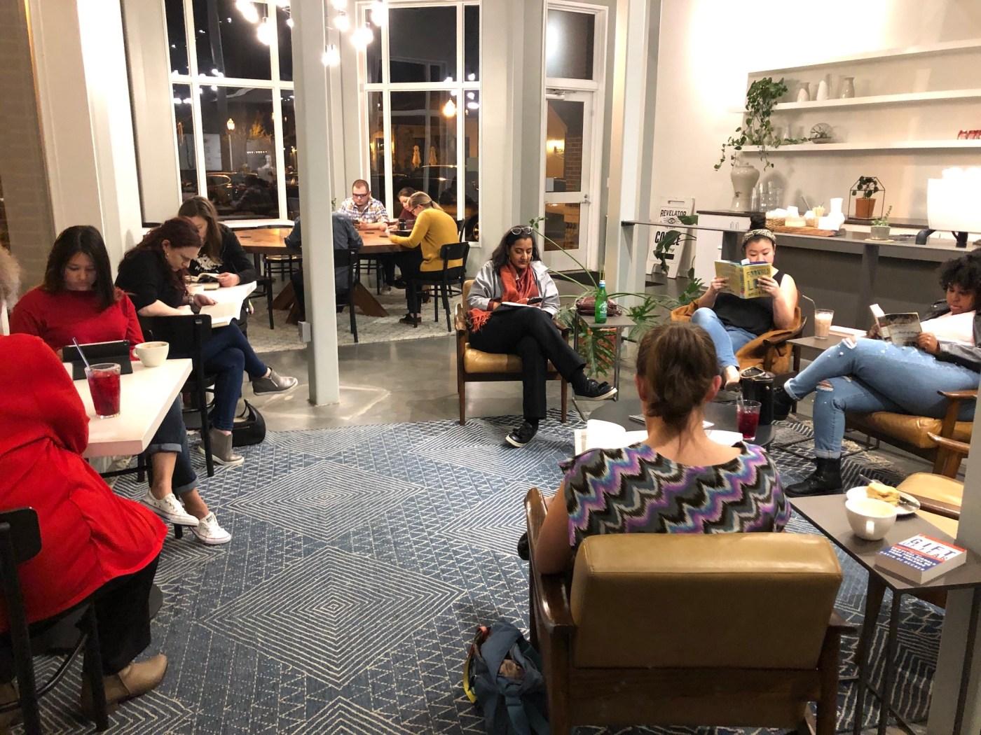 Silent Book Club Birmingham Chapter Meeting
