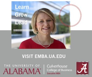 Univerity of Alabama - Executive MBA