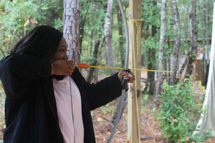 archery at Camp Cosby