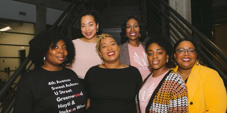 Black Girl Ventures volunteer change agents in Birmingham, AL