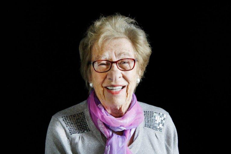 Eva Schloss, Holocaust survivor and Anne Frank's stepsister
