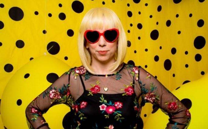 Leisa Cole portrait at Art Bash