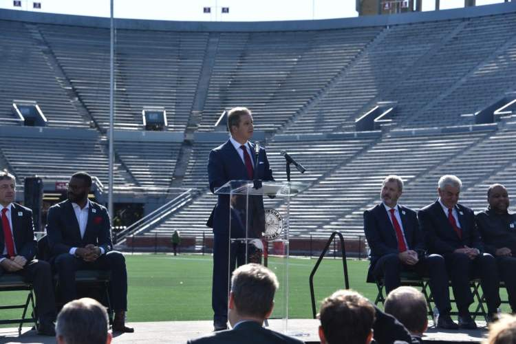 Nick Sellers, CEO of The World Games 2022 at Legion Field in Birmingham