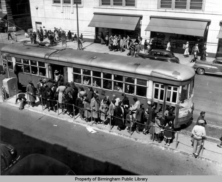 streetcar service downtown birmingham