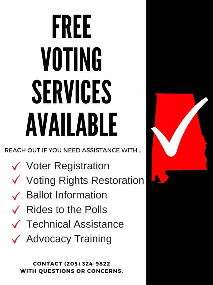 Voting services with AIDS Alabama