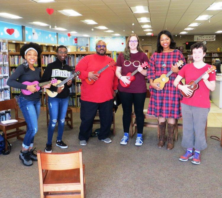 Avondale library ukulele