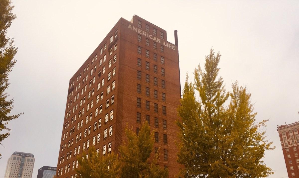 Birmingham's American Life Building reaches halfway point of $24M redevelopment