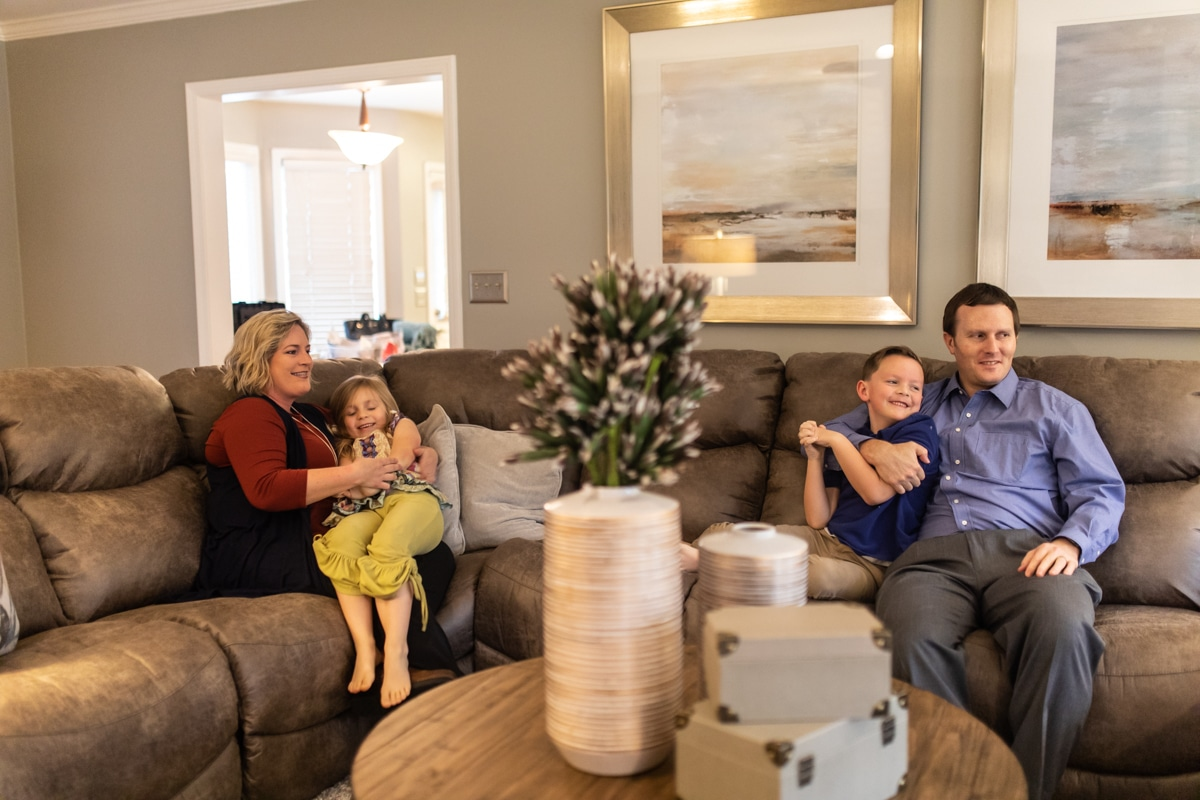 PHOTOS: See this Birmingham family's living room transformation