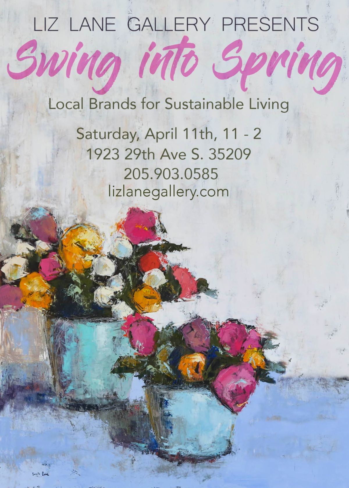Swing into Spring; Local Brands for Sustainable Living