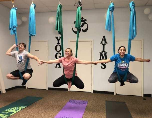 aerial yoga yoga aims studio