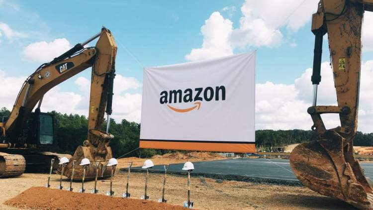Amazon groundbreaking