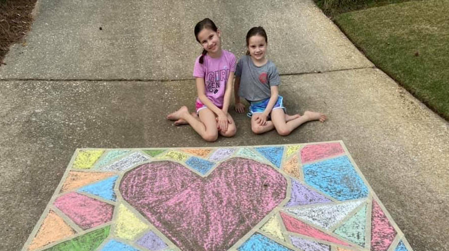 Birmingham gets colorful as locals Chalk The Walk