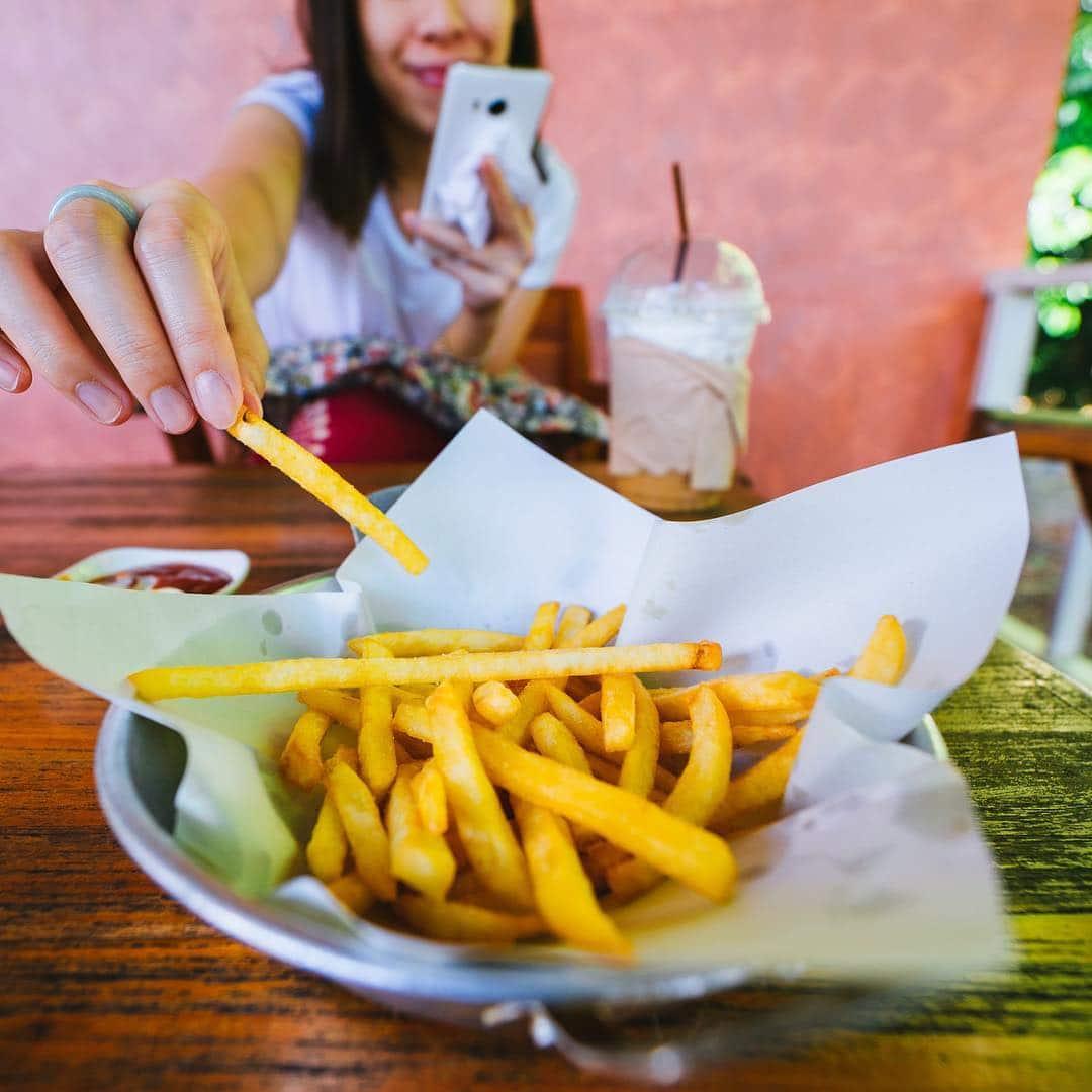 Birmingham, food, French fries
