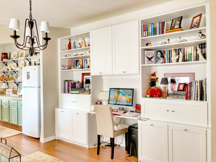 Closets by Design built-in home office