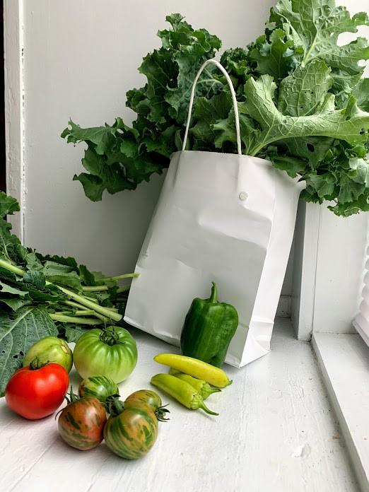 Produce from Fountain Heights Farms, run by Birmingham-area farmers