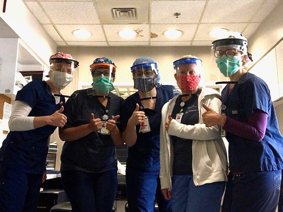 See how Birmingham students are supplying healthcare workers with face shields
