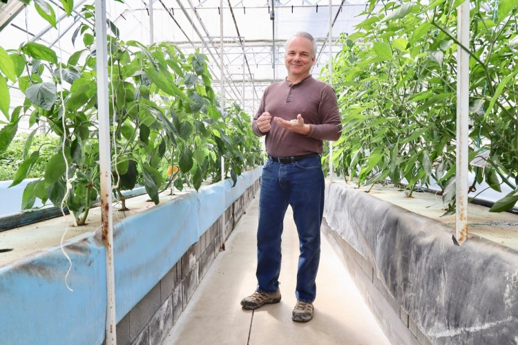 Stuart Raburn is a Birmingham-area farmer