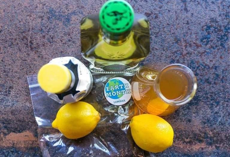 the lumbThe Lumbarar earth month cocktail kit