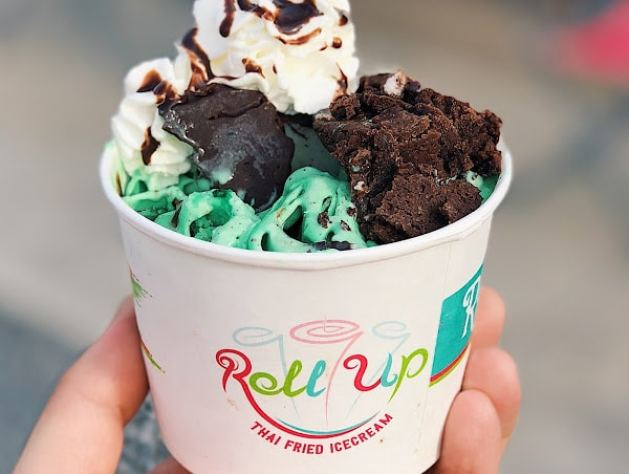 Birmingham, Roll Up Ice Cream, ice cream