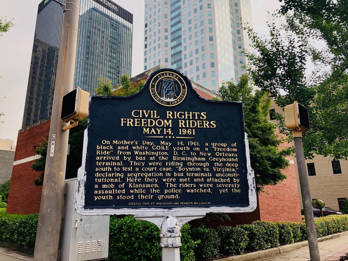 Event captures memories of Freedom Riders' heroic journey between Anniston and Birmingham