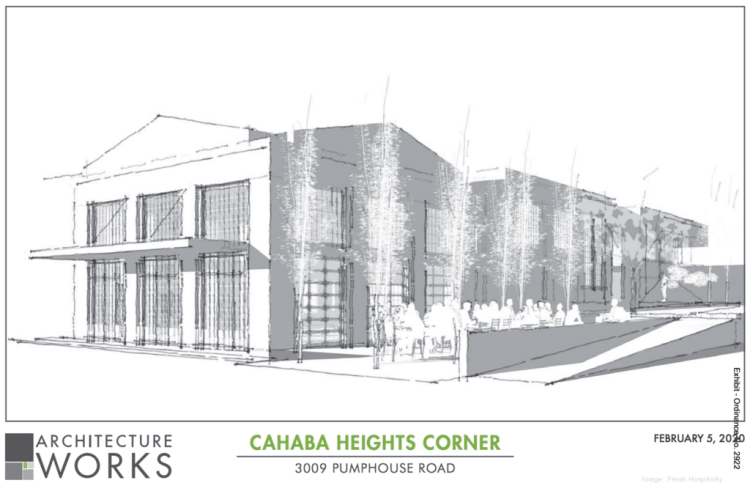 new Cahaba Heights development