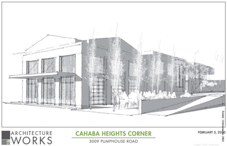 new Cahaba Heights development