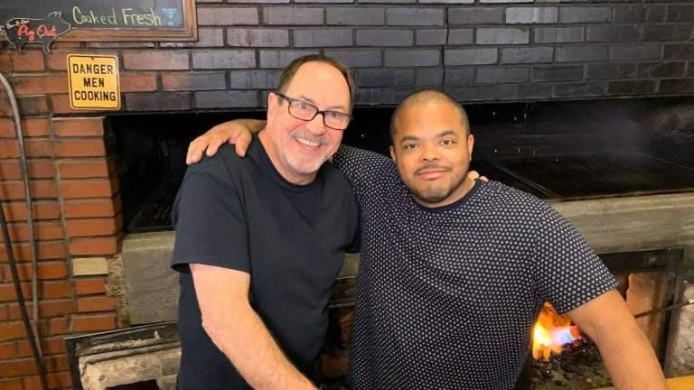 Van Sykes + Roger Cooking