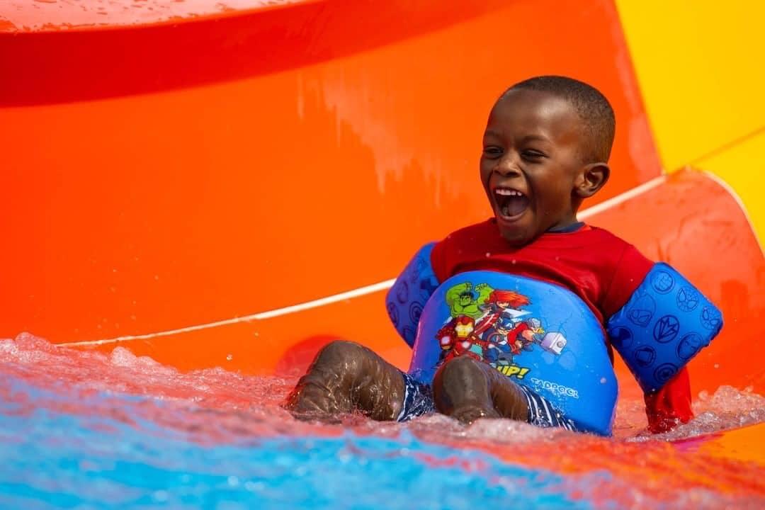 Slip 'n slide into summer on 7 splash pads around Birmingham