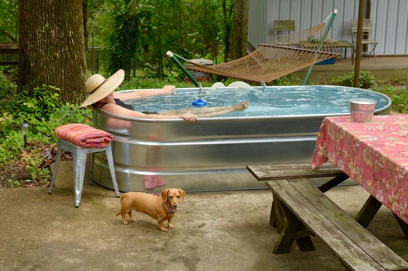 Birmingham, stock tank pool, trends, DIY pool, backyard pool