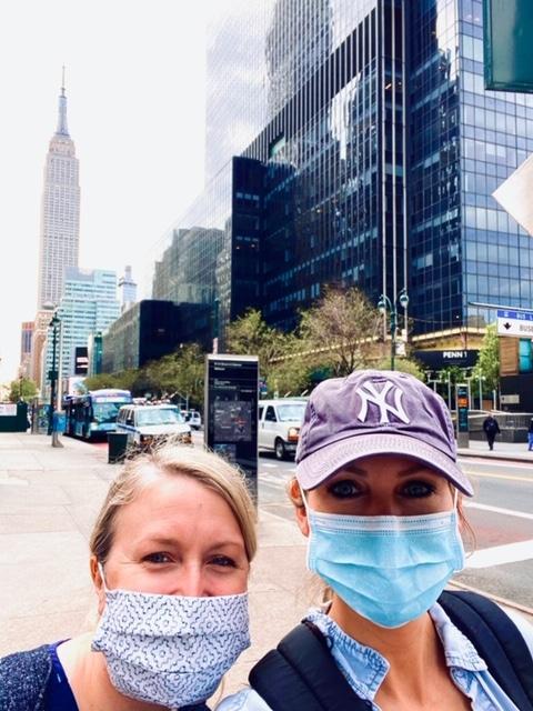 Birmingham nurses in NYC for COVID-19