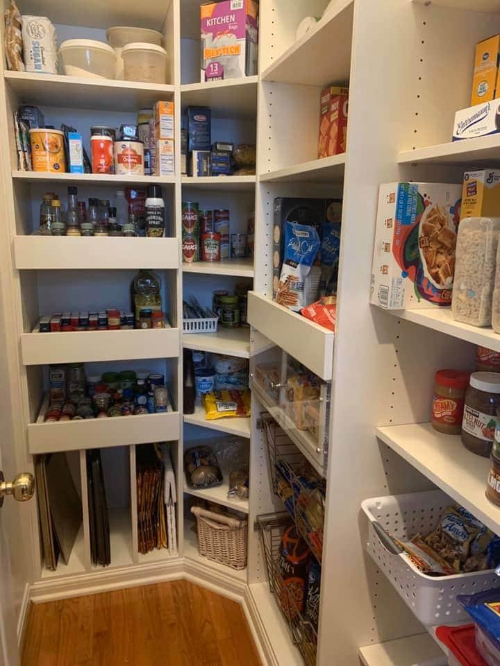pre-portioning snacks is a kid-friendly pantry hack