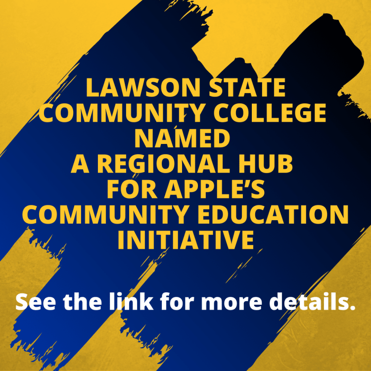 Lawson State Community College + Apple are teaming up to grow the next generation of startup owners