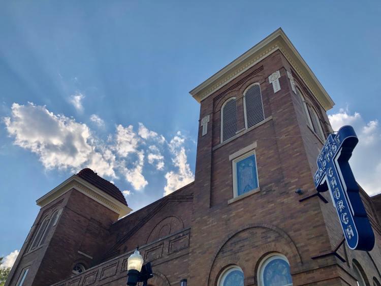 Birmingham, 16th Street Baptist Church