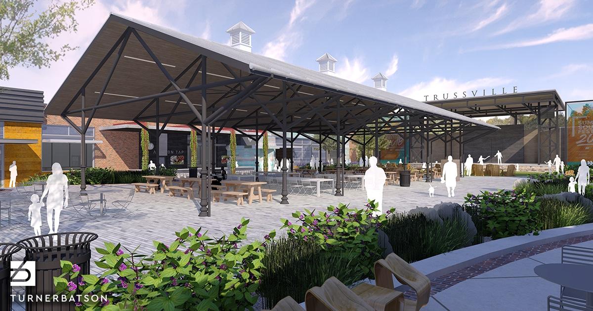 Pavilion in Trussville's new Entertainment District