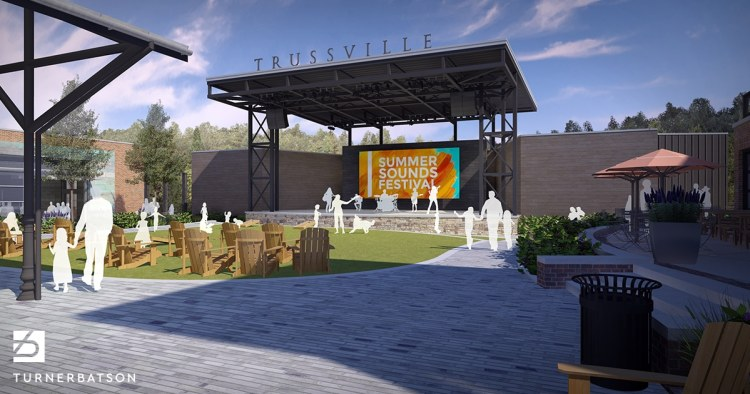 Stage at Trussville Entertainment District