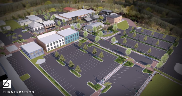 parking in Trusssville's new Entertainment District