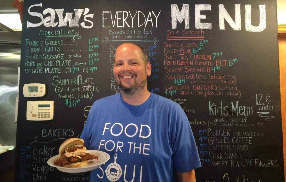 Saw's Soul Kitchen Chef Matthew Statham to compete in nationwide cooking competition, August 8-9