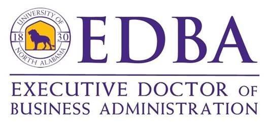 UNA's new EDBA logo