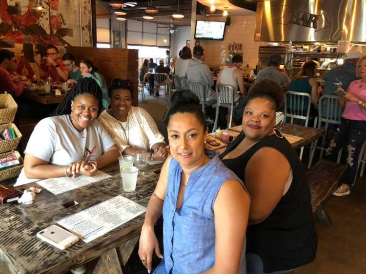 Dining Out for Lifers at MELT in Avondale in 2019