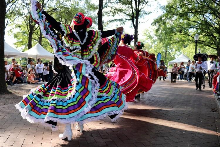 Fiesta Birmingham Dancers 2019