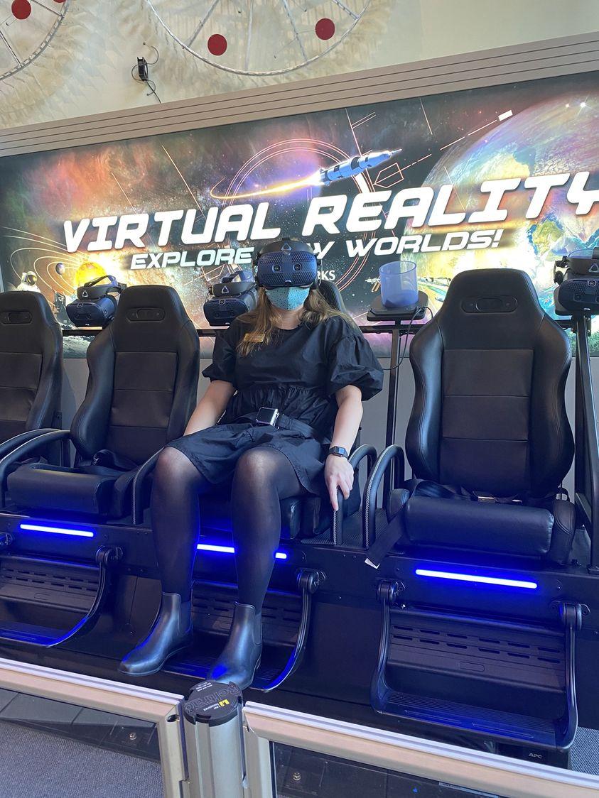 Birmingham, McWane Science Center, virtual reality