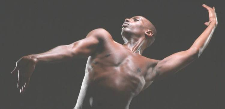 Germaul Barnes is one of the dancers at Lift Every Voice