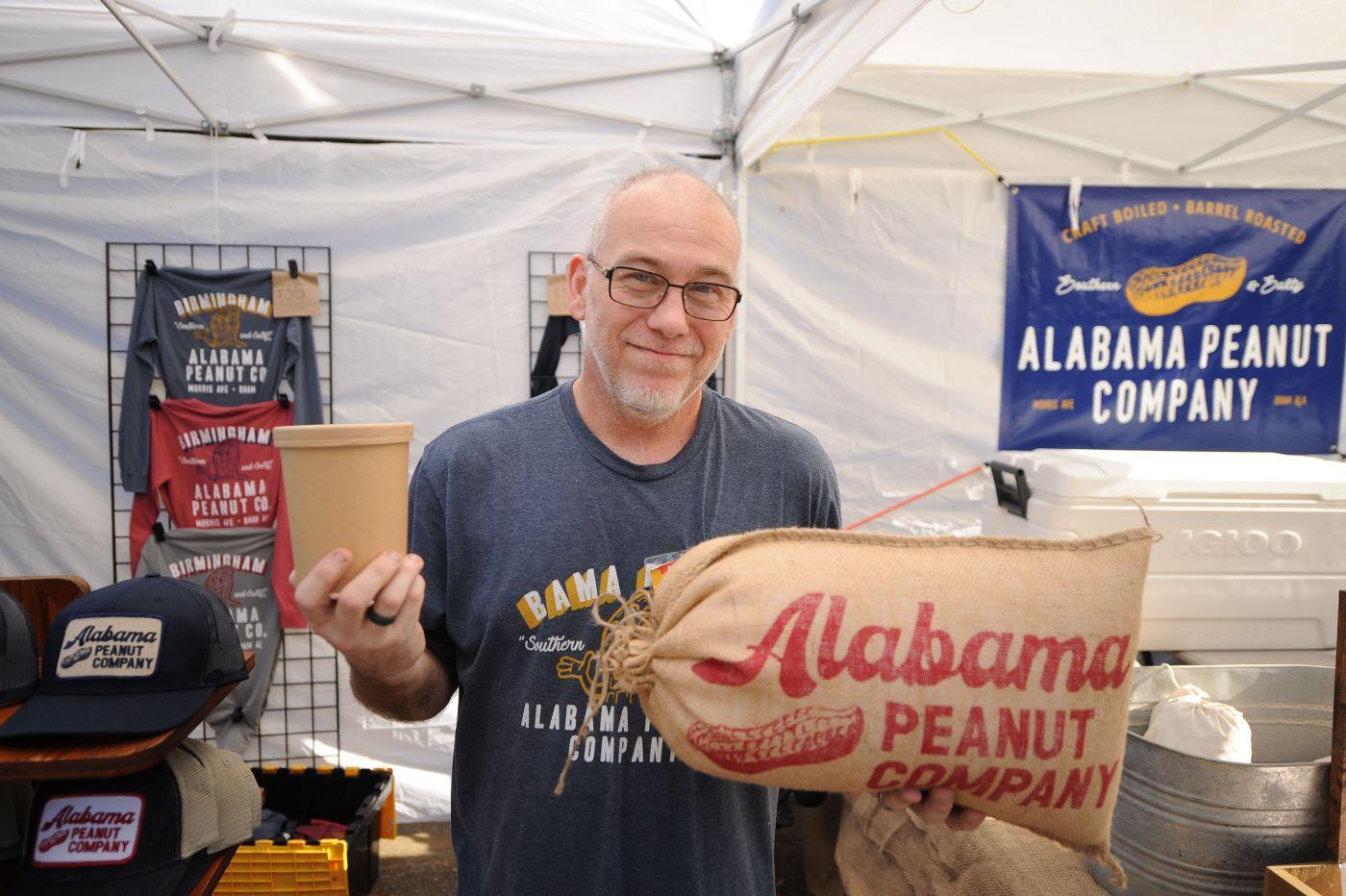Alabama Peanut Company, a vendor featured at MOSS MAGIC 2020 festival