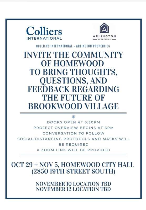 Brookwood Village Questions and Feedback Information